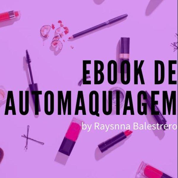 Imagem principal do produto eBook Curso de Automaquiagem