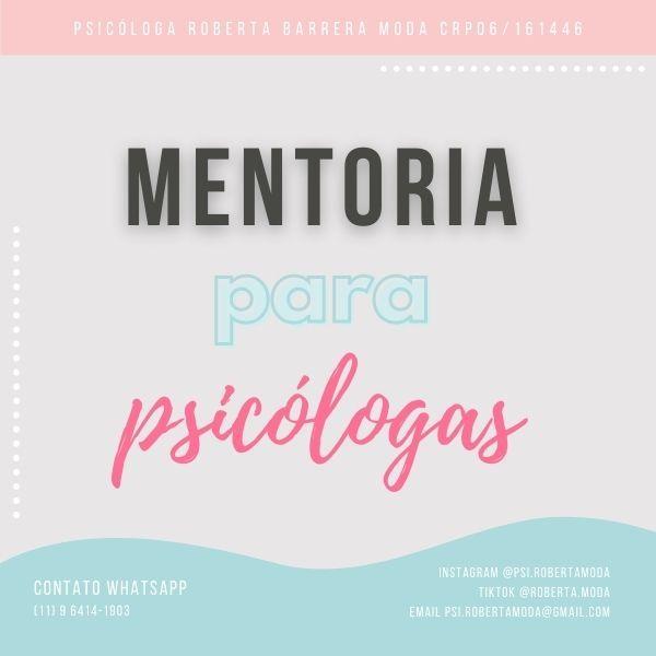 Imagem principal do produto Mentoria para Psicólogas