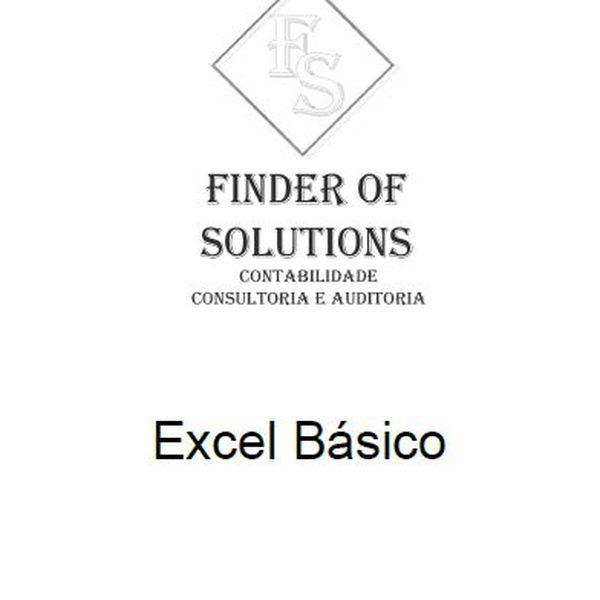 Imagem principal do produto Curso de Excel Básico