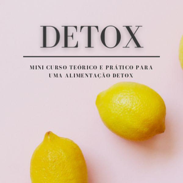 Imagem principal do produto Curso completo, teórico e prático, sobre o comportamento e  dieta Detox