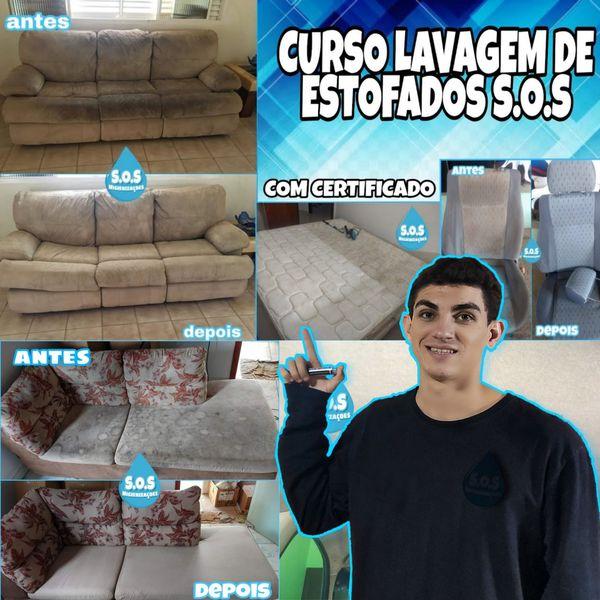 Imagem principal do produto Curso de Lavagem de estofados S.O.S Higienizações