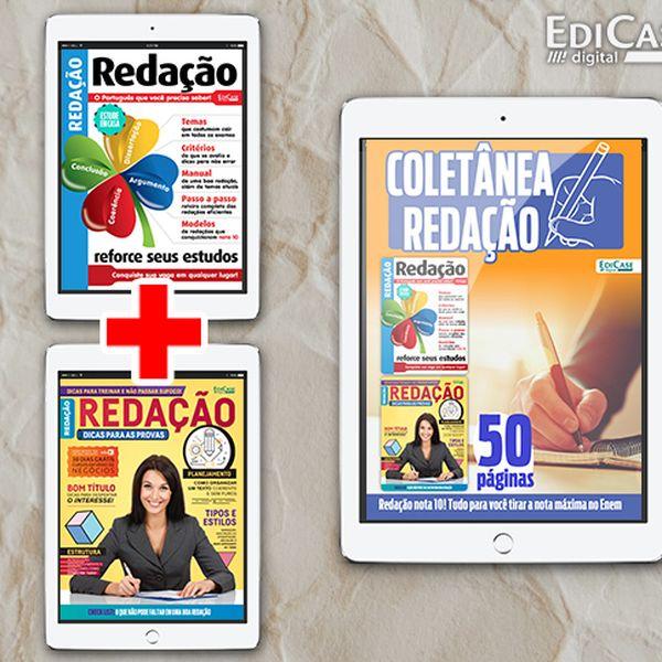 Imagem principal do produto COLETÂNEA REDAÇÃO NOTA 10! Tudo para você tirar a nota máxima no Enem
