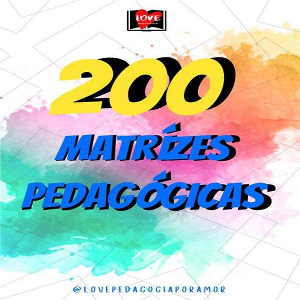 Imagem principal do produto 200 Matrizes Pedagógicas
