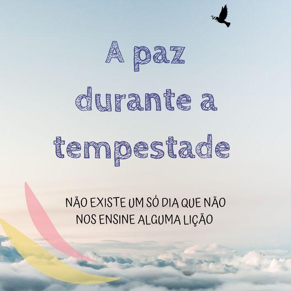 Imagem principal do produto E-BOOK A PAZ DURANTE A TEMPESTADE