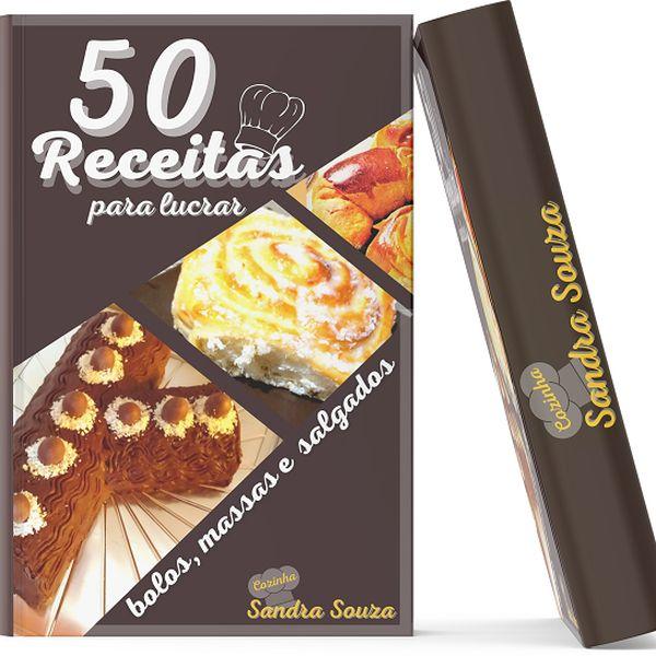Imagem principal do produto 50 RECEITAS PARA PARA LUCRAR,COM SANDRA SOUZA