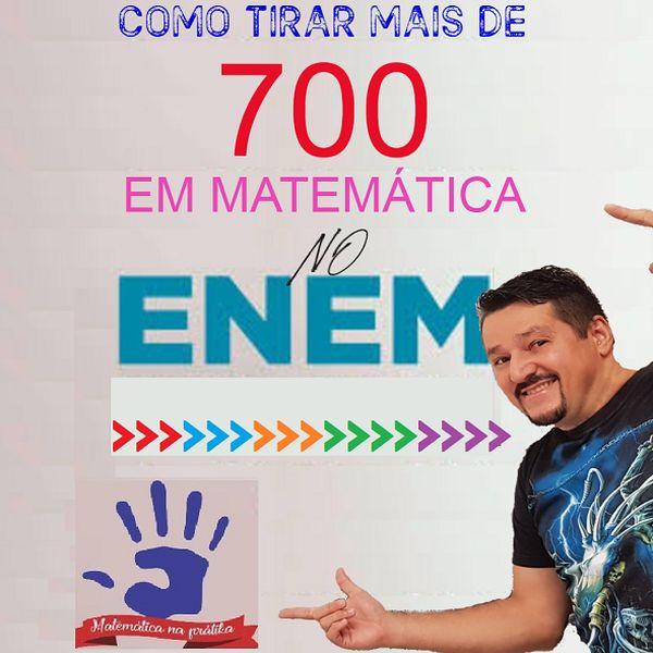 Imagem principal do produto COMO TIRAR +D700 EM MATEMÁTICA NO ENEM SÓ COM MTM BÁSICA