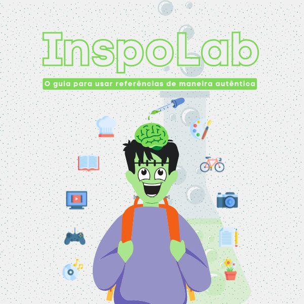Imagem principal do produto InspoLab: o guia para usar referências de maneira autêntica