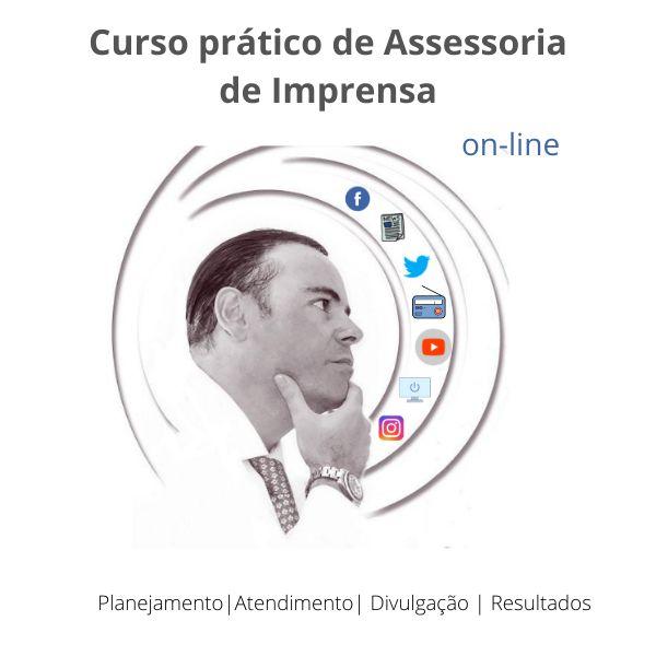 Imagem principal do produto Curso Prático de Assessoria de Imprensa:  Planejamento, Atendimento, Divulgação e Resultados