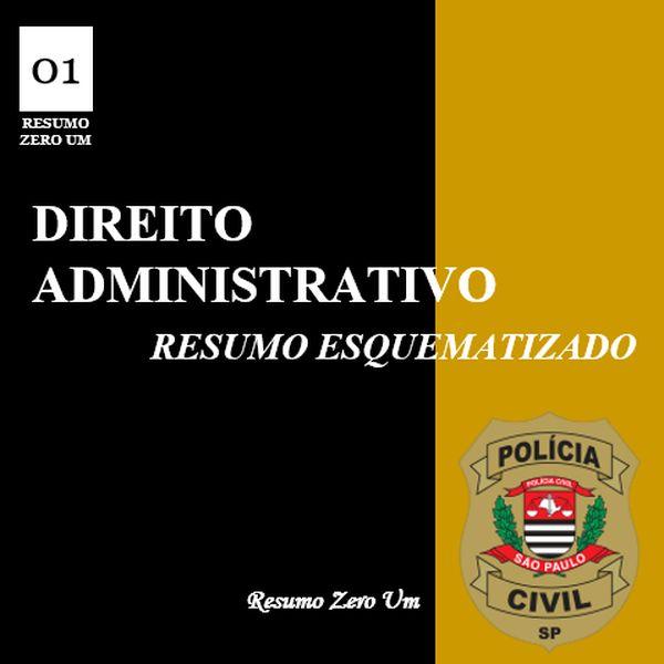 Imagem principal do produto Direito Administrativo para Escrivão de Polícia PC/SP
