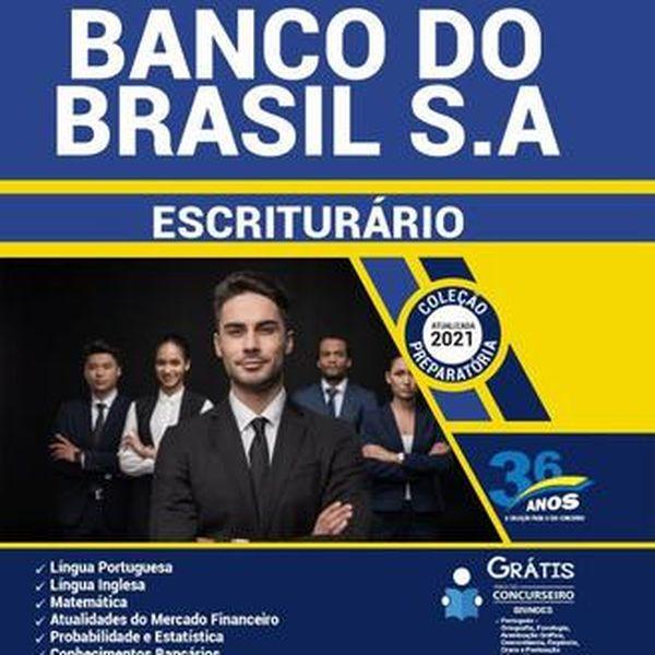 Imagem principal do produto  Apostila Banco do Brasil 2021 - Escriturário - Agente Comercial