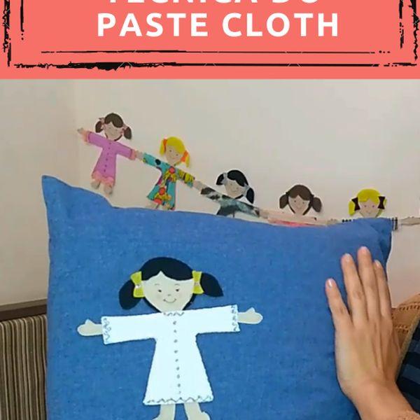 Imagem principal do produto Curos Capa de Almofada com Past Cloth