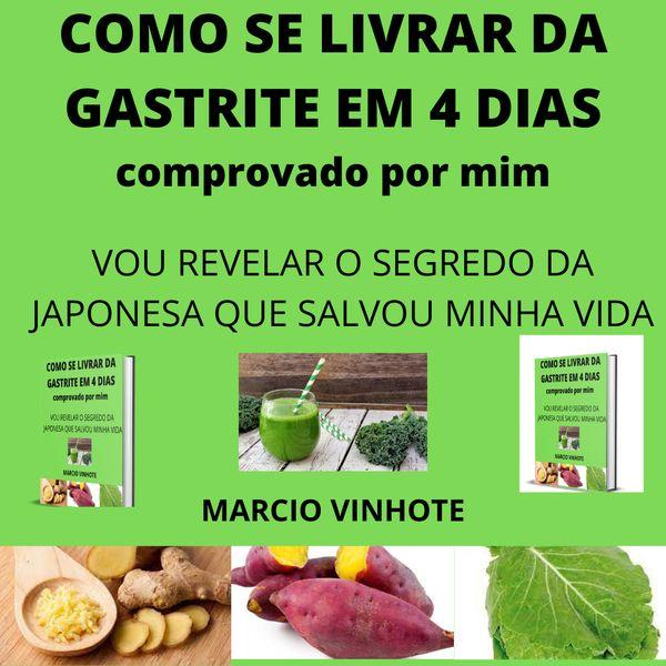 Imagem principal do produto COMO SE LIVRAR DA GASTRITE EM 4 DIAS