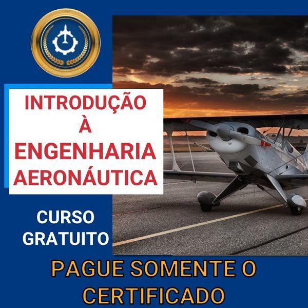 Imagem principal do produto Curso Gratuito de Introdução à Engenharia Aeronáutica