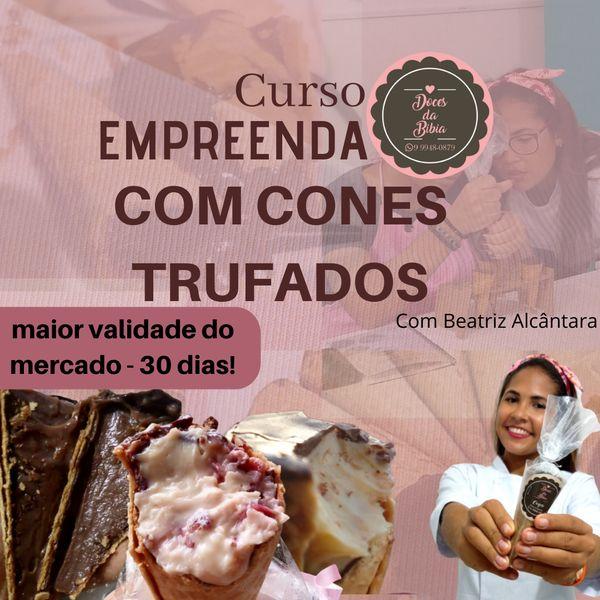 Imagem principal do produto CONES TRUFADOS COM 30 DIAS DE VALIDADE - APRENDA COMO