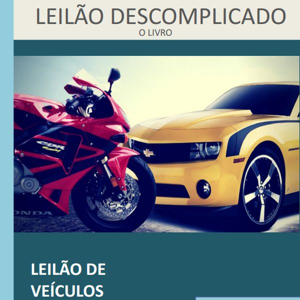 Imagem principal do produto Leilão Descomplicado - Livro Digital