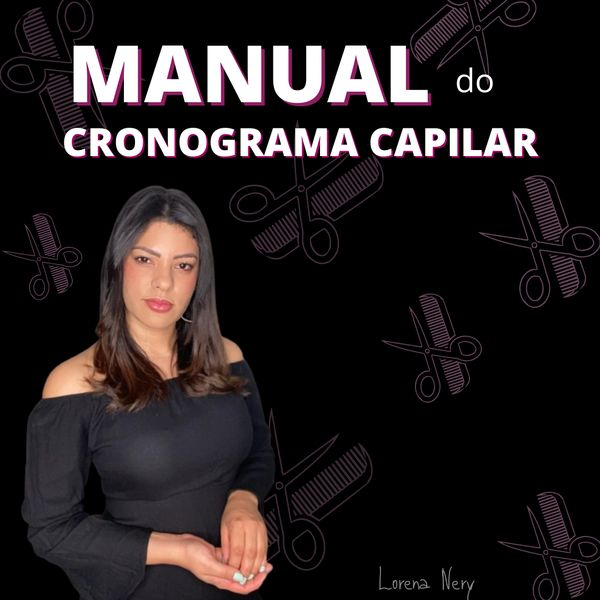 Imagem principal do produto Manual do Cronograma Capilar