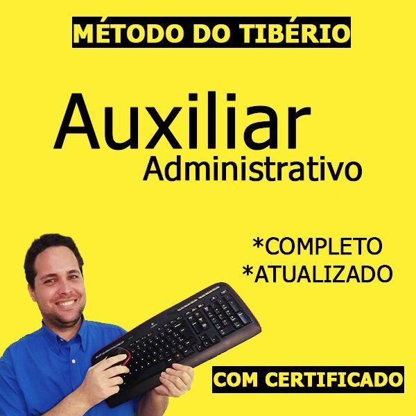 Imagem principal do produto Auxiliar Administrativo - Método do Tibério