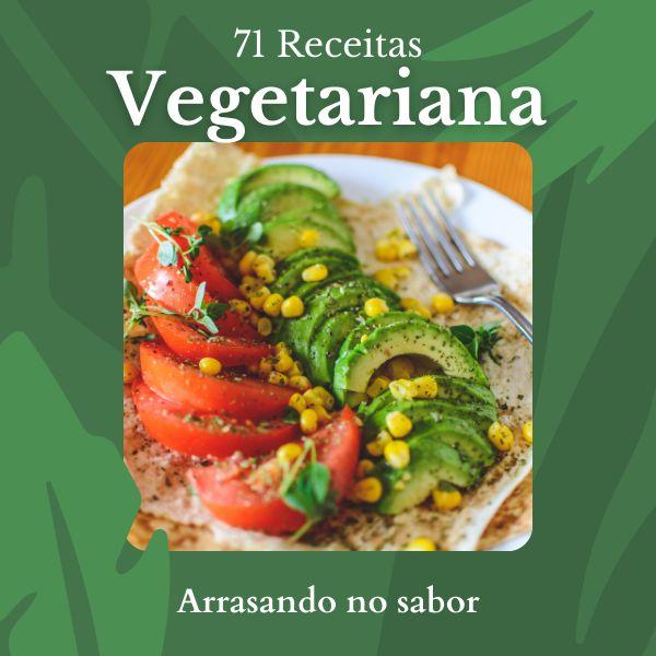 Imagem principal do produto 71 Receitas Vegetariana