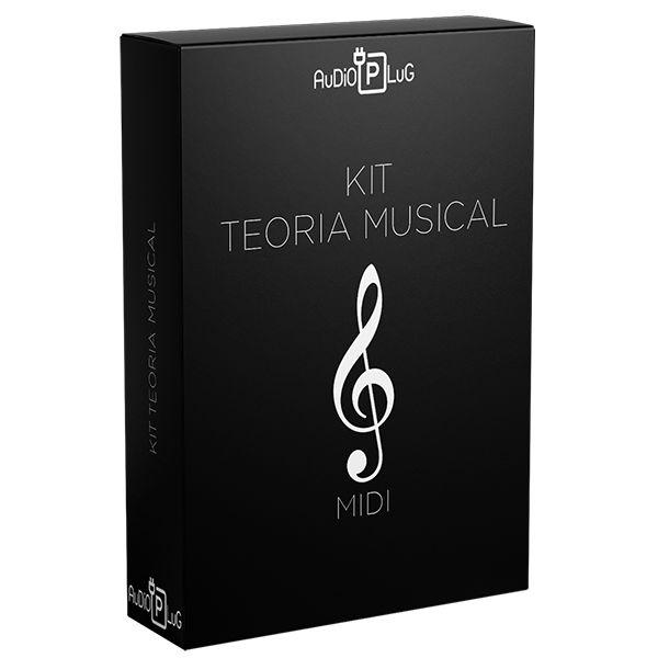 Imagem principal do produto Mid Pack   Kit Teoria Musical :: MiDi   AuDiO PLuG