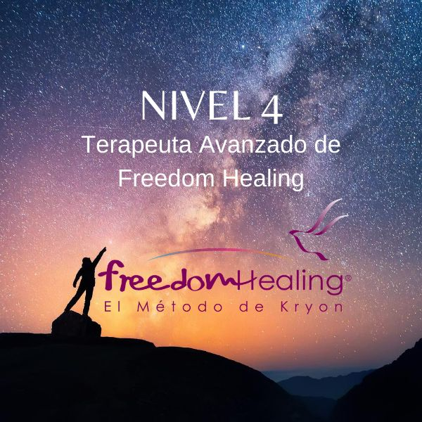 Imagem principal do produto Freedom Healing Nivel 4 ¡Terapeuta Avanzado!