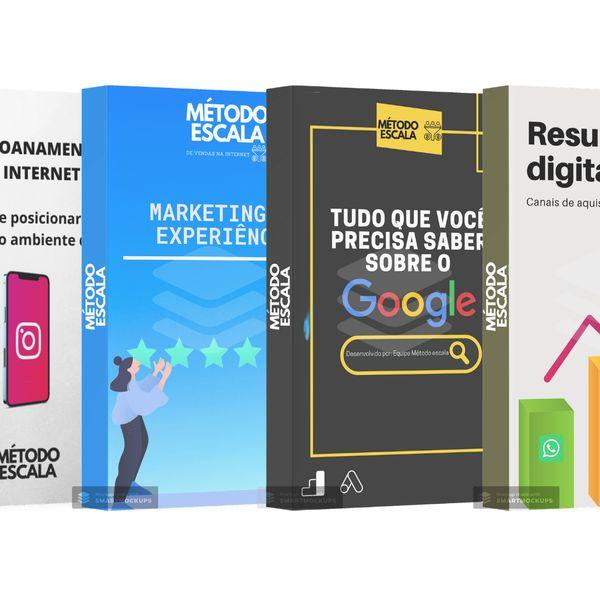 Imagem principal do produto 8 E-book's sobre Marketing Digital