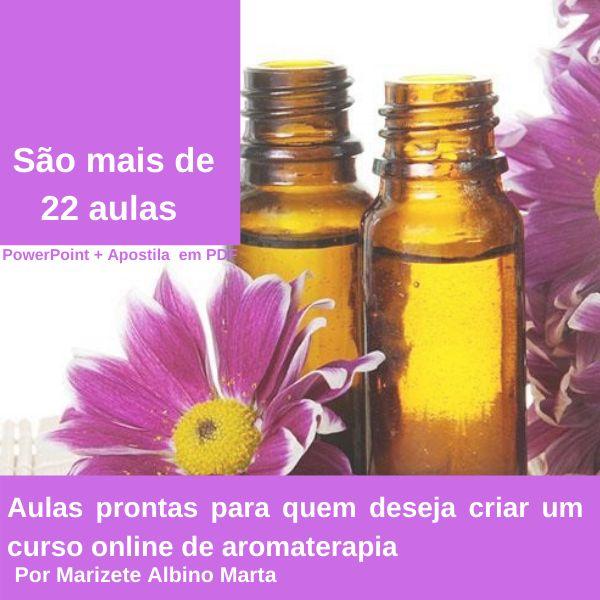 Imagem principal do produto  Aromoterapia Holística
