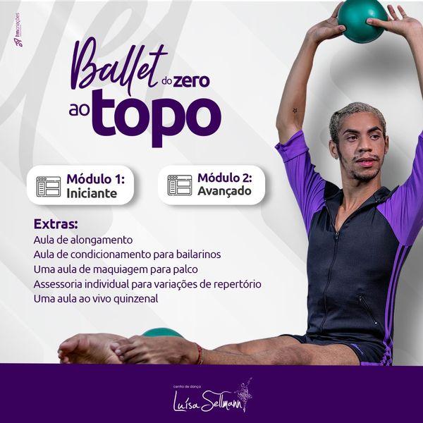 Imagem principal do produto Ballet do Zero ao Topo - Mensal