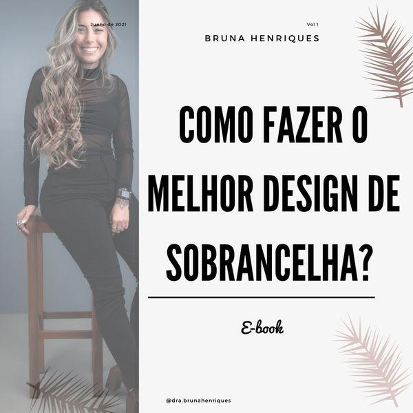 Imagem principal do produto COMO FAZER O MELHOR DESIGN DE SOBRANCELHA