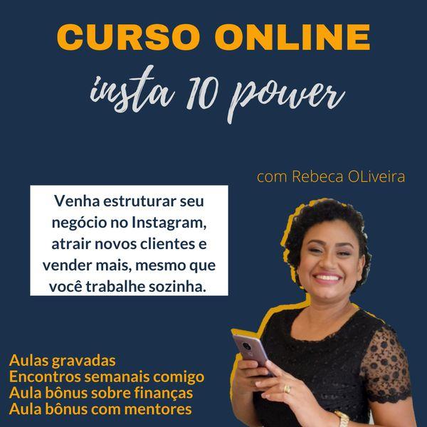 Imagem principal do produto Curso Insta10 Power