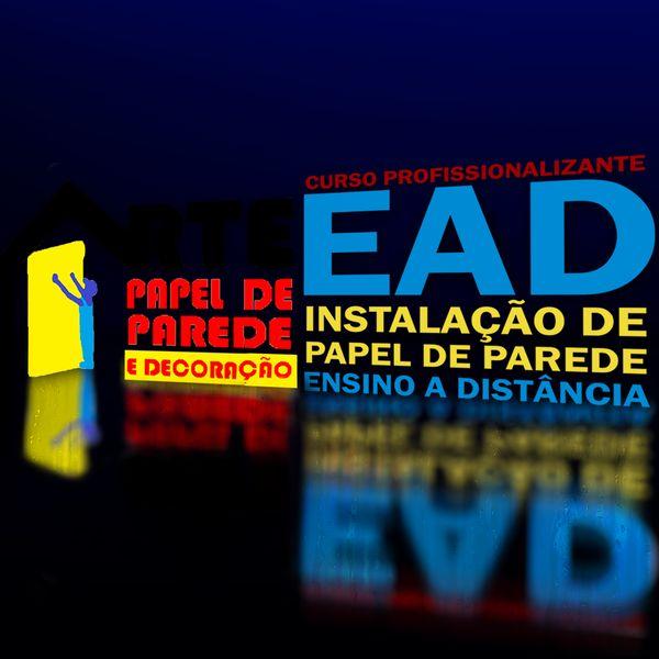 Imagem principal do produto Curso Profissionalizante EAD Instalação de Papel de Parede Ensino a Distância
