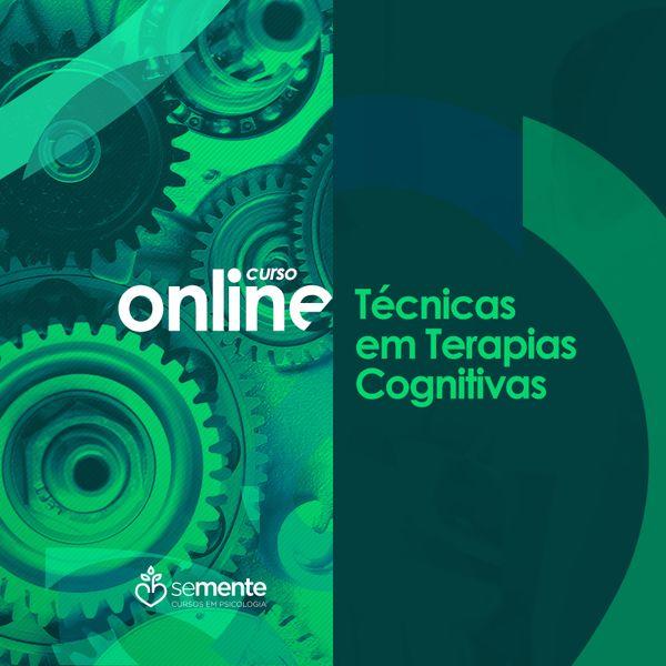 Imagem principal do produto Curso Online - Técnicas em Terapias Cognitivas