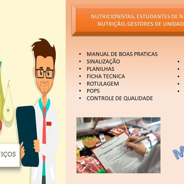 Imagem principal do produto Combo Gestão em Unidades produtoras de refeição