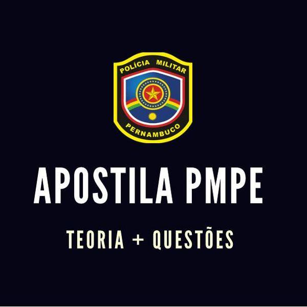 Imagem principal do produto APOSTILA DE GEOGRAFIA PARA PMPE