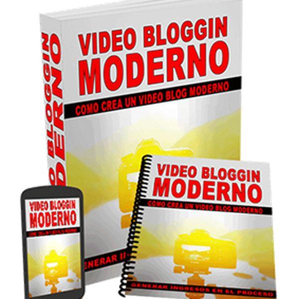 Imagem principal do produto Como Crear Un Video Blog Moderno