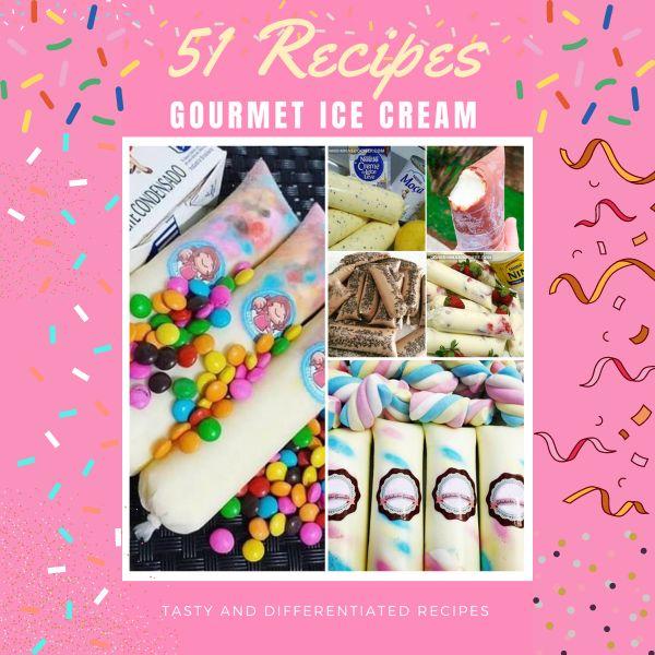 Imagem principal do produto 51 Gourmet Ice Cream Recipes