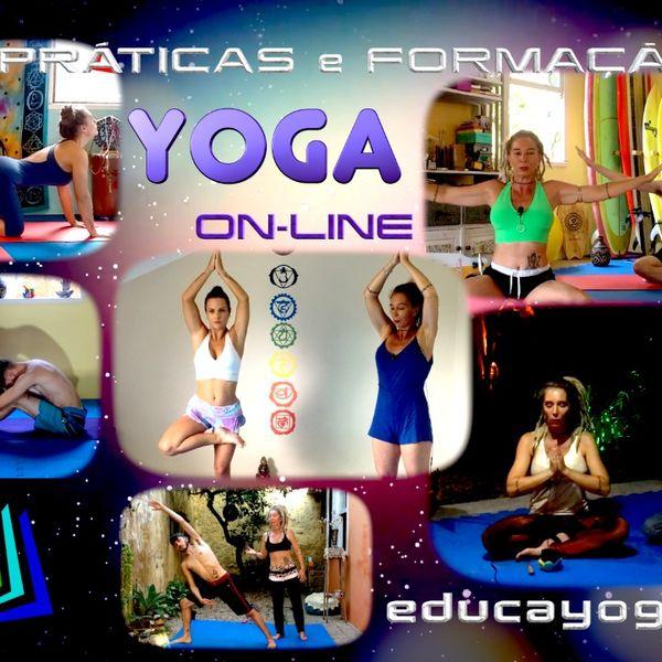 Imagem principal do produto Curso e prática de Yoga para Iniciantes