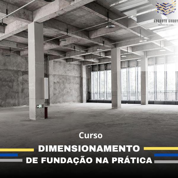 Imagem principal do produto Curso de Dimensionamento de Fundações na Pratica.