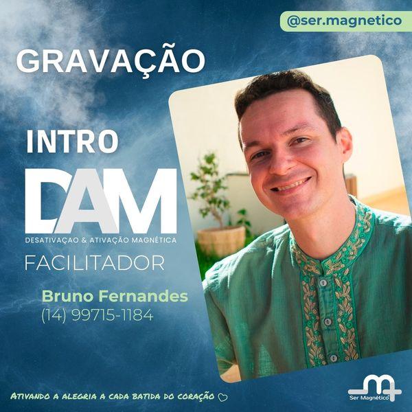 Imagem principal do produto Introdução ao DAM - com Bruno Fernandes - Desativação e Ativação Magnética de Emoções