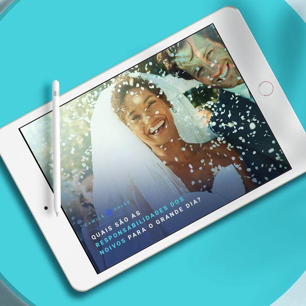 Imagem principal do produto E-book - Quais São As Responsabilidades Dos Noivos Para O Grande dia