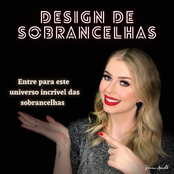 Imagem principal do produto Design de Sobrancelhas por Bruna Arnold