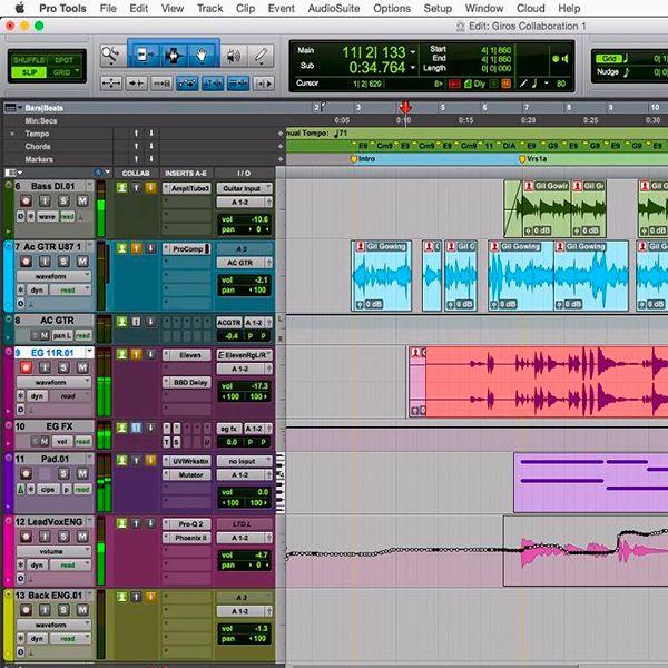 Imagem principal do produto Domine o seu áudio com o Pro Tools