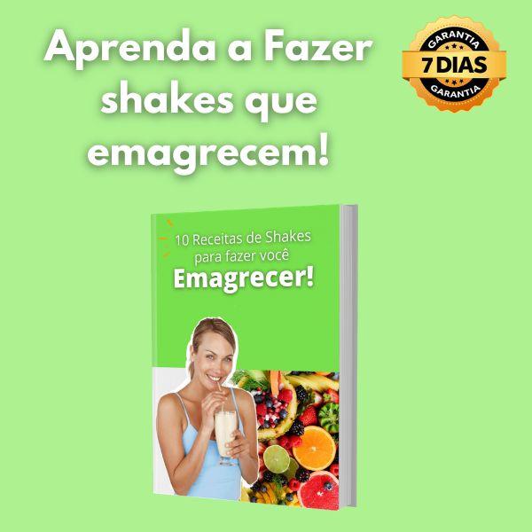 Imagem principal do produto 10 Receitas de Shakes para Emagrecer
