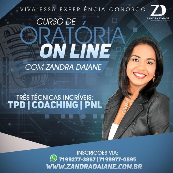 Imagem principal do produto Formação Profissional de Oradores e Palestrantes ORATÓRIA Com Zandra Daiane