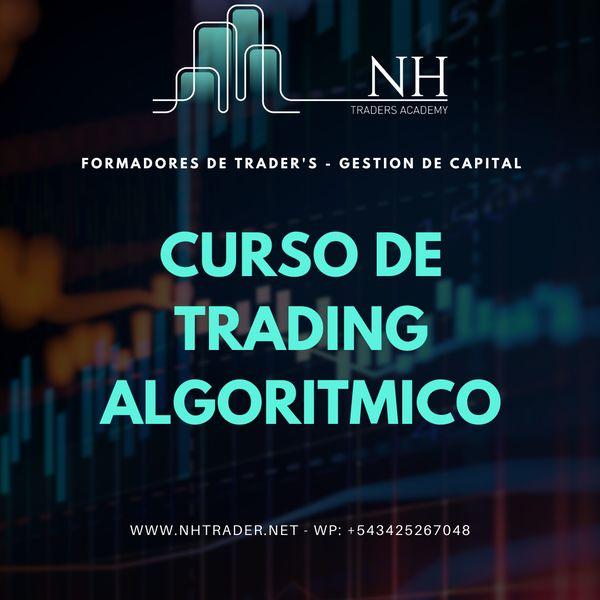 Imagem principal do produto Formación de Trading Algoritmico