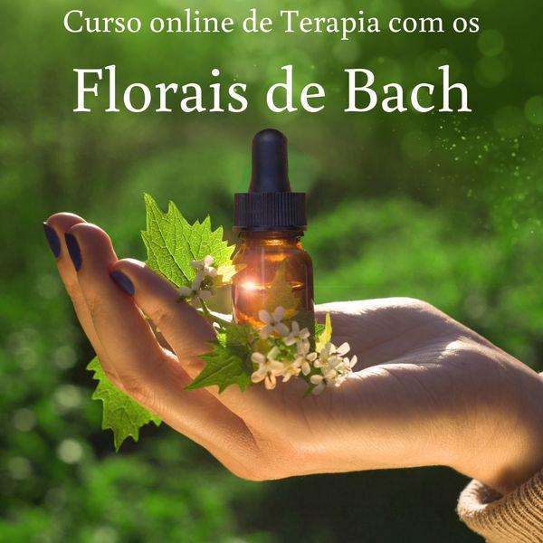 Imagem principal do produto Curso de Terapia com os Florais de Bach