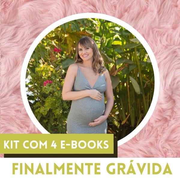 Imagem principal do produto FINALMENTE GRÁVIDA - Kit com 4 E-books