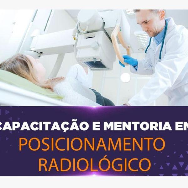 Imagem principal do produto Capacitação e Mentoria em Posicionamento Radiologico