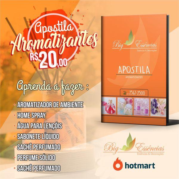 Imagem principal do produto APOSTILA AROMATIZADORES E MAIS...