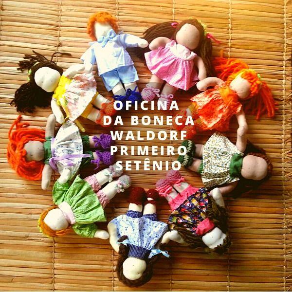 Imagem principal do produto Boneca Waldorf _ Oficina Online