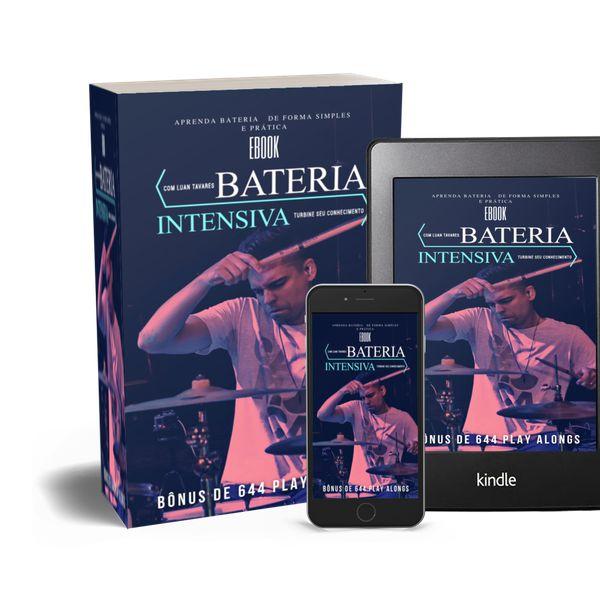 Imagem principal do produto eBook Bateria Instensiva - Curso 1 +  2 Bônus